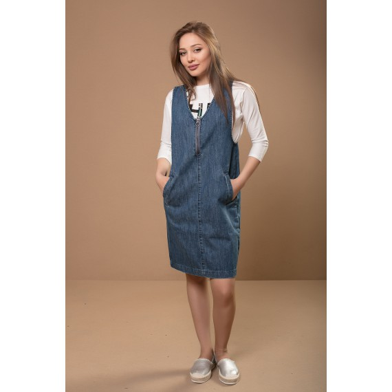 BOSSINI Woven Denim Dress