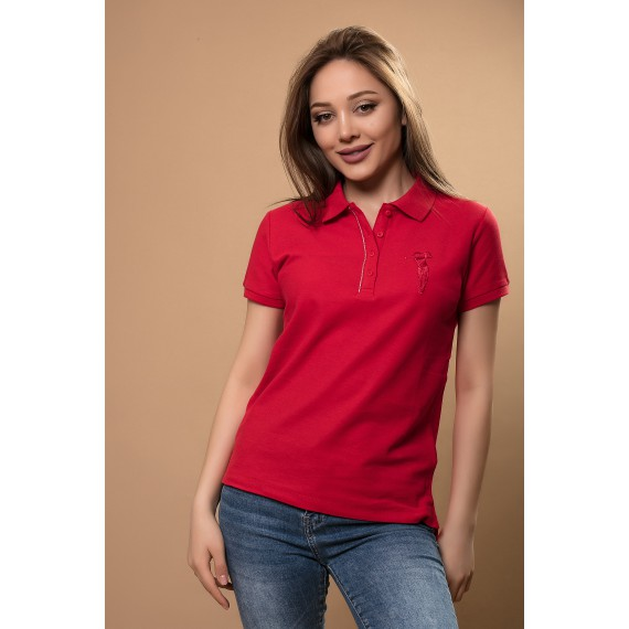 BOSSINI KNITTED POLO SHIRT