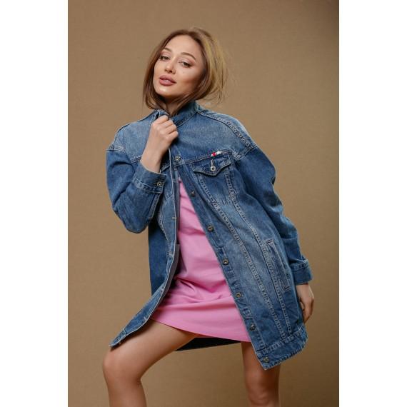 GLO-STORY denim jacket