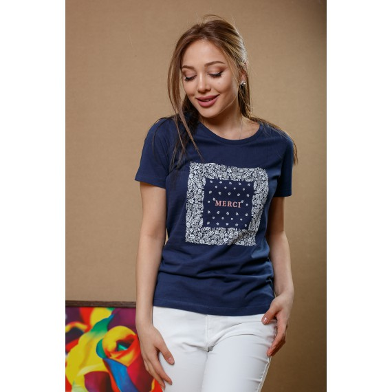 BOSSINI KNITTED T-SHIRT