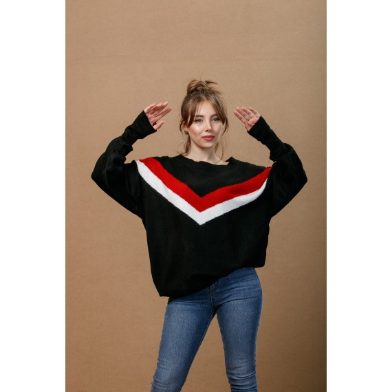 GLO-STORY Knitted Sweater
