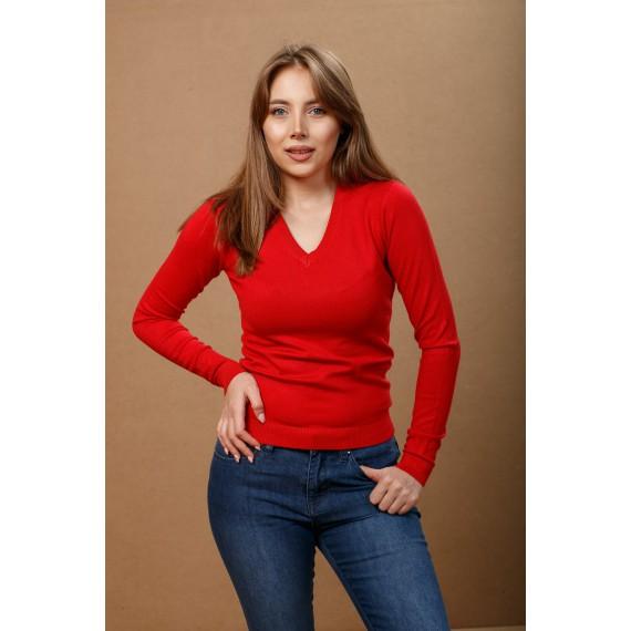 GLO-STORY V-Neck Basic Sweater
