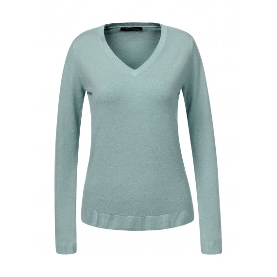 GLO-STORY V-Neck Basic Sweater