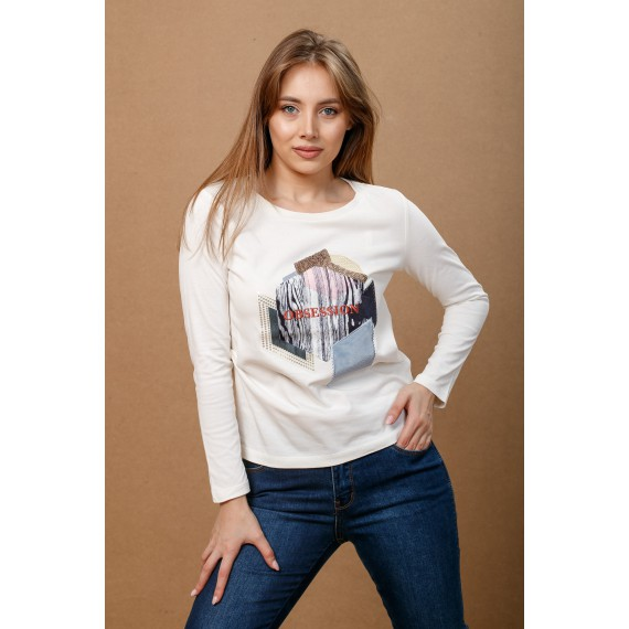 BOSSINI KNITTED BLOUSE